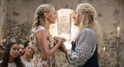 "(L to R) Sophie (AMANDA SEYFRIED) and Donna (MERYL STREEP) in ""Mamma Mia! Here We Go Again."" Ten years after ""Mamma Mia! The Movie,"" you are invited to return to the magical Greek island of Kalokairi in an all-new original musical based on the songs of ABBA."
