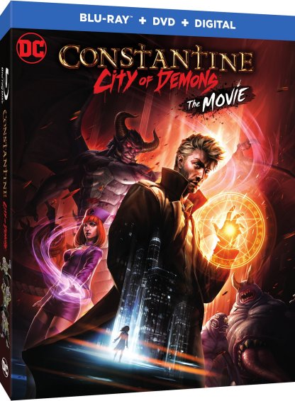 Constantine City of Demons Blu-ray