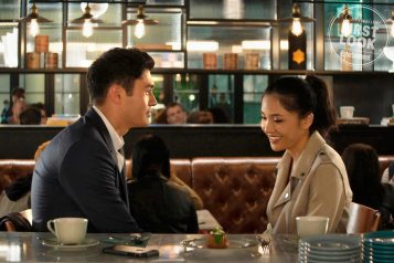 Crazy Rich Asians (L-R) HENRY GOLDING and CONSTANCE WU