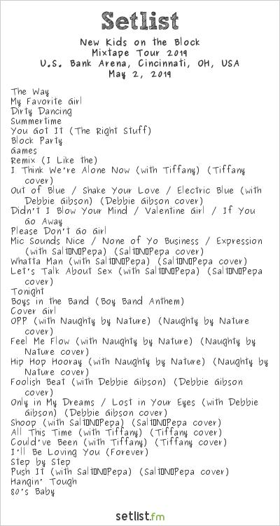 NKOTB-setlist